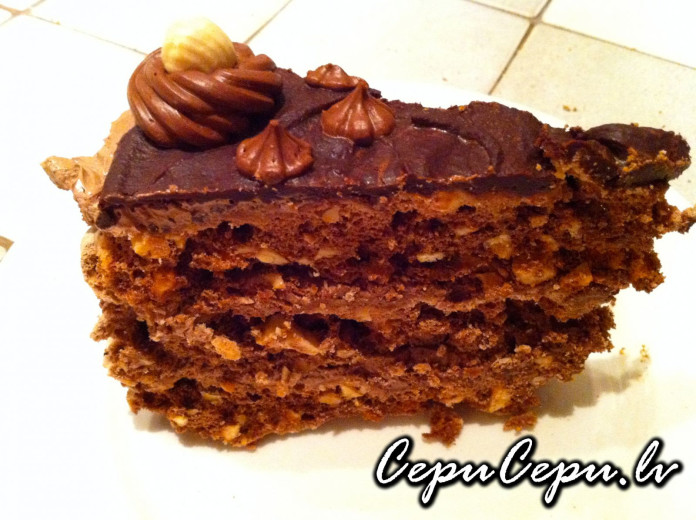 Torte Cielaviņa recepte