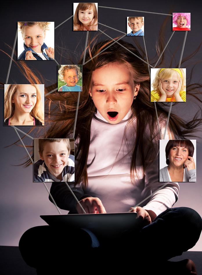 Bērnu bildes internetā