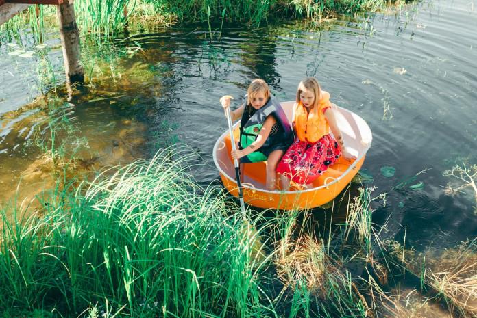 laivošana bērniem