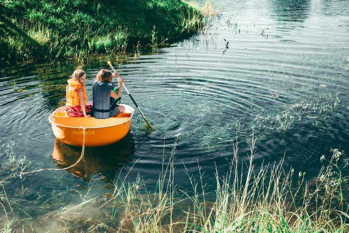 airēšana bērniem laiva rupucis