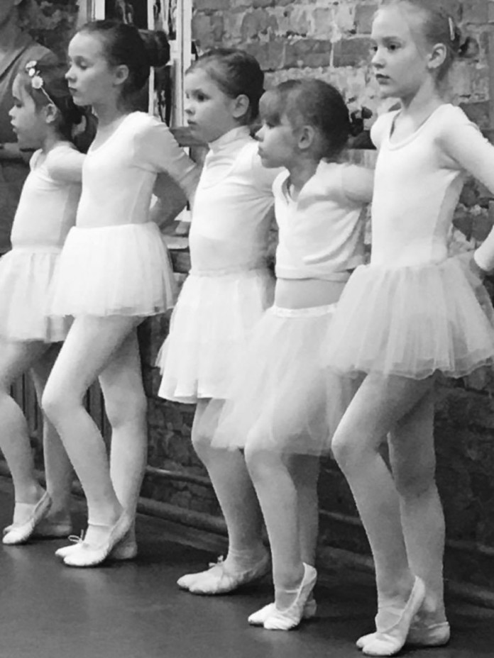 Baleta nodarbības bērniem