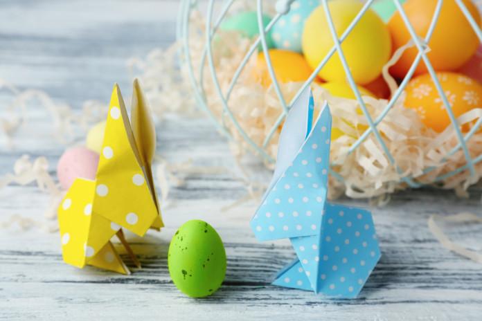 Origami zaķēni