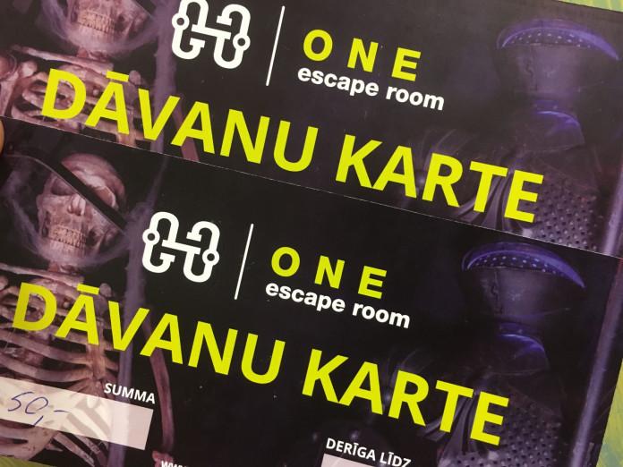 Escape room one