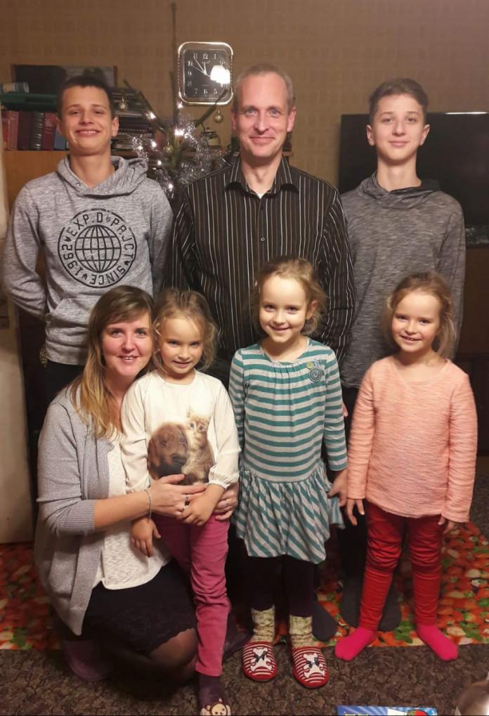 Ķergalvju ģimene no Jelgavas