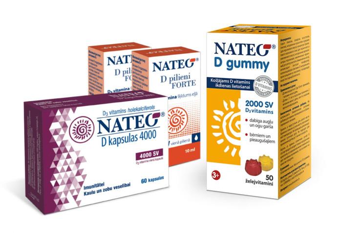 Nateo D vitamīni