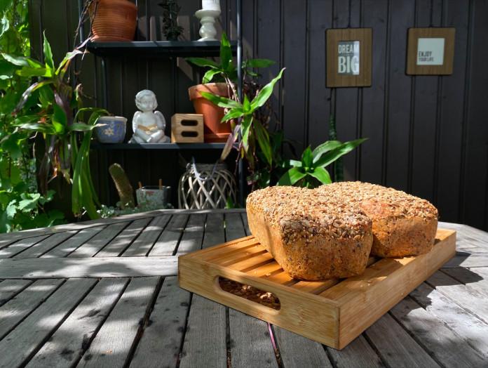 sēkliņu maize recepte